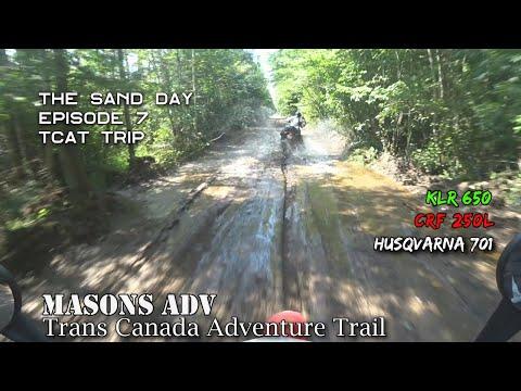 TCAT Trip Episode 7 | The sand section | Masons ADV | KLR