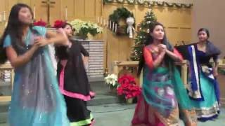 hindi christian christmas dance by BNCP girls