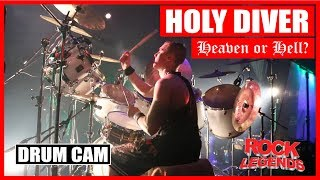 Holy Diver Heaven Or Hell Drum Cam David Winter
