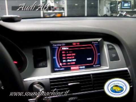 Audi A 6 2008 Up Grade Impianto Audio Video Controllo