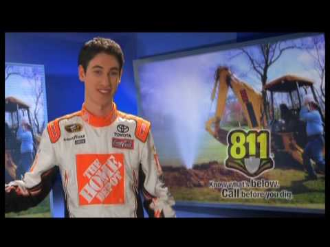 Call Before You Dig! - Joey Logano - 30 second PSA