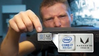 Intel CPU with AMD Graphics HANDS ON! - Hades Canyon NUC