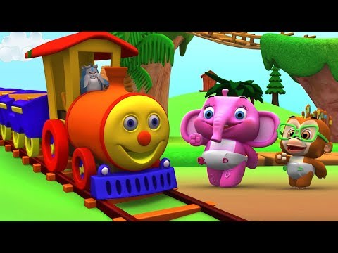 Rig A Jig Jig | Nursery Rhyme For Toddlers | Learning Videos For Kids | Cartoons by Little Treehouse