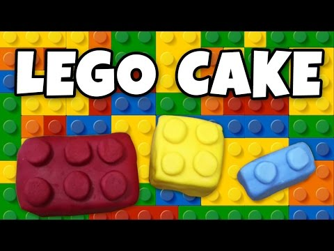 Lego Cake | Cake Recipe | Quick & Easy Recipe | Learn How To Cook & Bake | Hooplakidz Recipes
