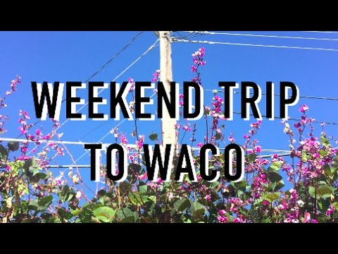 WEEKEND TRIP TO WACO // magnolia market & thrifting