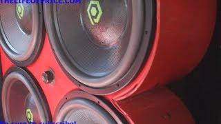 DAY DAYS DUMB LOUD IMPALA! 60KW ON 4 18S @ HOW-U-RIDIN 2013 - VID 3 - SHREVEPORT, LA