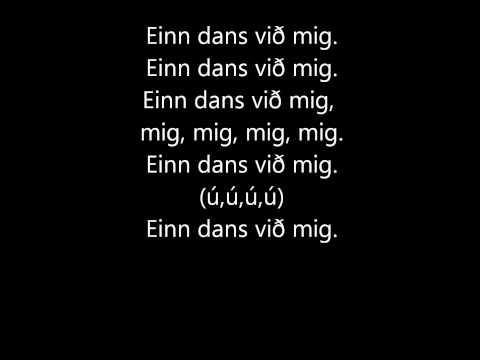 Hemmi Gunn - Einn dans við mig texti