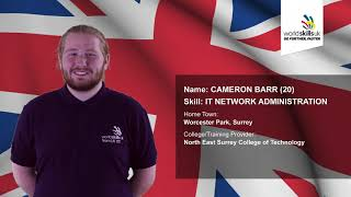 Cameron Barr - IT Network Administration