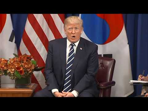 Trump jokes about 'deplorables' comment during remarks about N. Korea in N.Y.