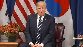 Trump Jokes About 'deplorables' Comment During Remarks About N. Korea In.
