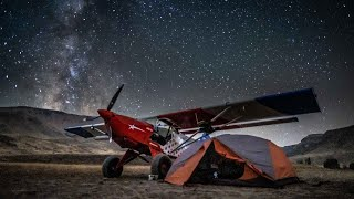 Flying, Wrenching and Camṗing our way to the Idaho Backcountry