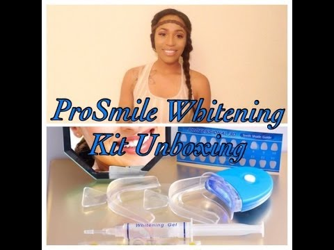 ProSmile Professional Teeth Whitening Kit w/ Crest 3D Products