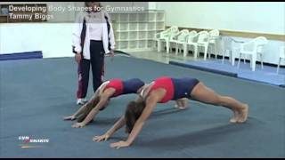 Developing Body Shapes for Gymnastics - Tammy Biggs