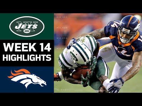 Jets vs. Broncos | NFL Week 14 Game Highlights