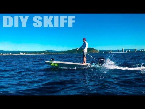 OVERPOWERED! Hand Built Skiff's Maiden Voyage!!