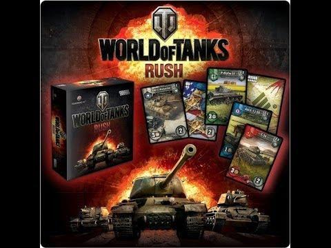 World Of Tanks Rush Unboxing I Prezentacja Karcianki Youtube