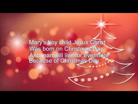 Mary's Boy Child KARAOKE (Full Version) Boney M