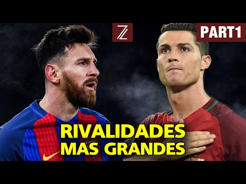Las 10 Rivalidades Más Grandes de la Historia | Part1 | Zicrone21