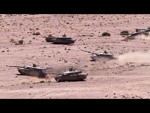 U.S. Marines And Jordanian Armed Forces In Combined Arms Live-Fire Exercise