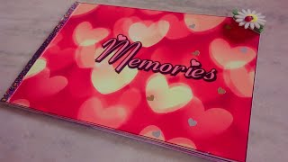 #Photo book #photo scrapbook #photo album #book of memorie....With cute tag stickers...🖤