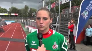 Laura Giuliani nach 1. FC Köln - Bayern München auf 06 09 2015
