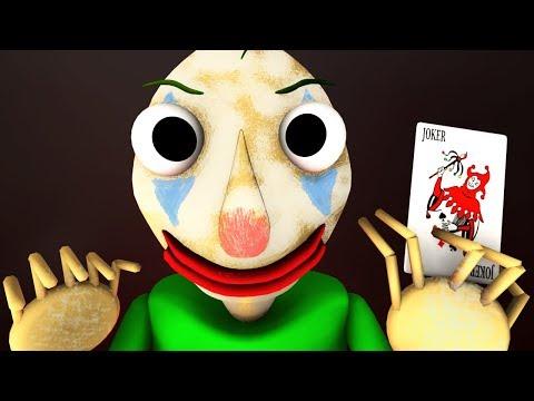 Балди стал Джокером (3D Хоррор Анимация)