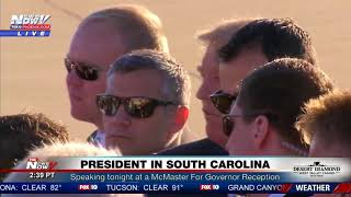PRESIDENTIAL STOP: Trump Makes Secret Service Stop For His Fans (FNN)
