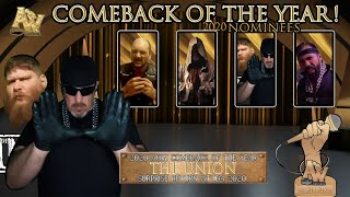 AOW: Comeback Of The Year (Nominees)