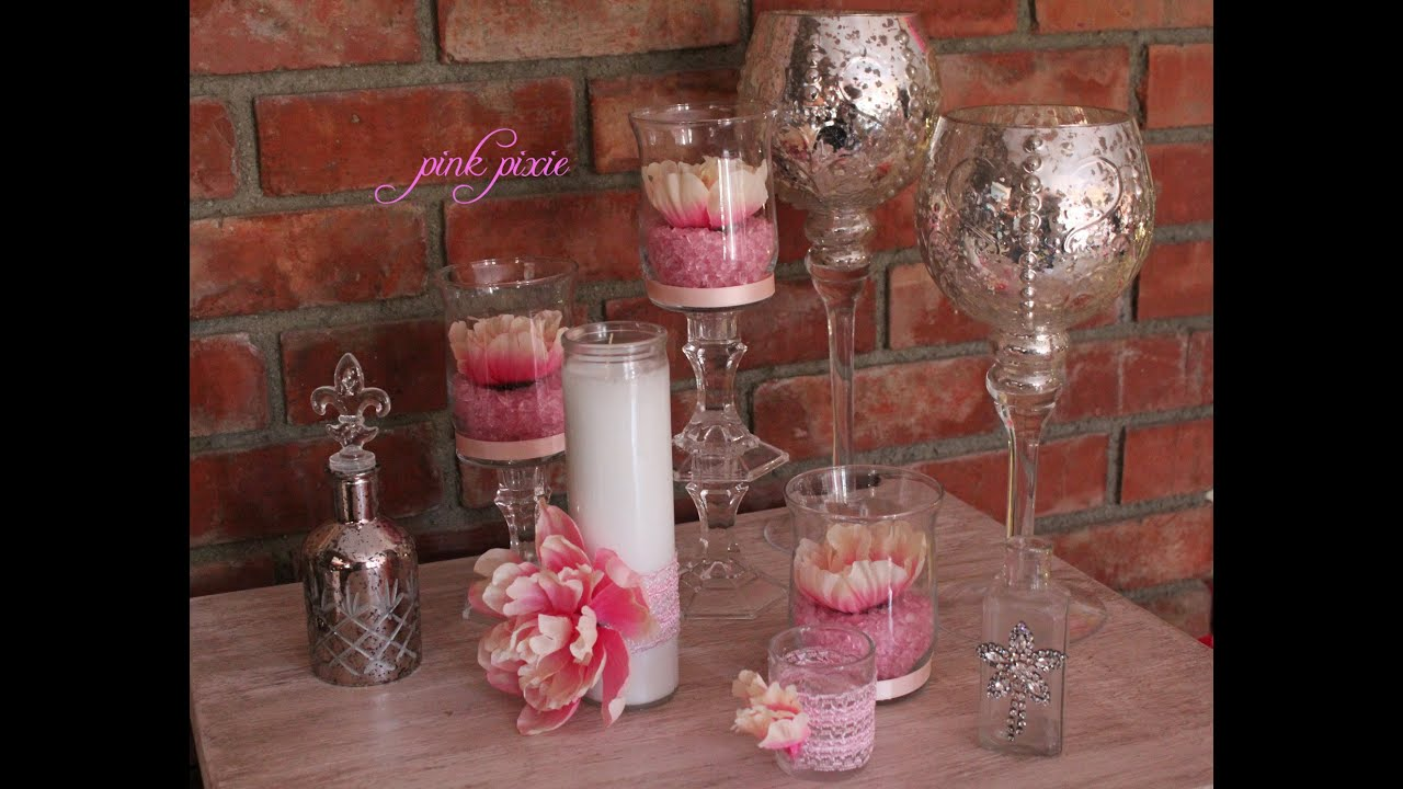 Baby shower or wedding centerpiece youtube for Baby shower decoration store