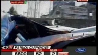 Champ Car   Patrick Carpentier   Vancouver 2003 (helmet cam)