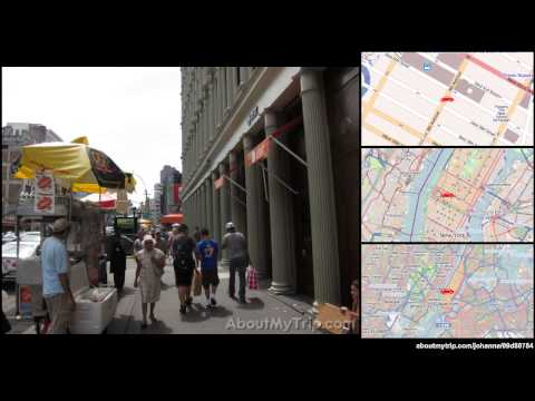West 39th Street (New York City, Garment District) to West 47th Street (Midtown) via Clinton
