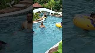 Swimming At Dayang Resort Singkawang