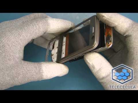 Tutorial Desmontagem Nokia Navigator 6710 - TELECELULA