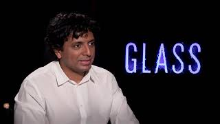 M Night Shyamalan Interview for GLASS movie