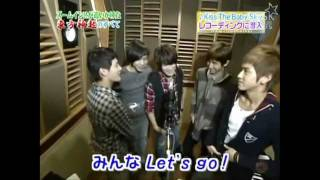 [DBSK Clip] Kiss The Baby Sky Recording NGs