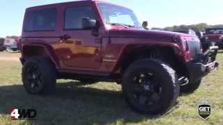 Jeep Wrangler Jk Sahara 2012 Build By 4wd