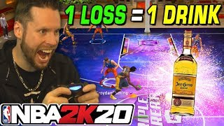 1 Loss = 1 Drink! 24 Mamba Challenge on NBA 2K20