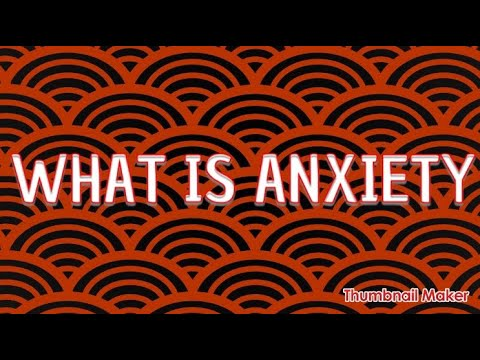 Anxiety – My Story