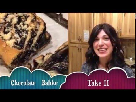 Chocolate Babka & Cinnamon Babka
