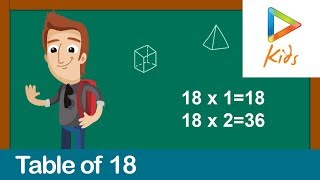 Table of 18   Tips and Tricks to Learn Multiplication Table   Hungama Kids