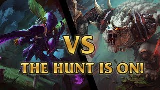 Repeat youtube video Rengar Vs Kha'Zix The Hunt is On! Event