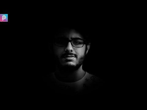 Carryminati Alone Black And White Dark Editing    Picsart Editing Tutorial    Picsart Manipulation