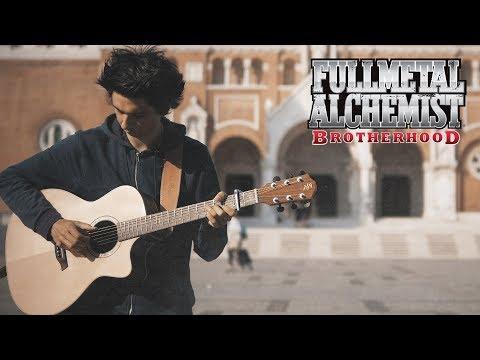USO (Lie) by SID - FullMetal Alchemist: Brotherhood - (Fingerstyle Guitar Cover by Albert Gyorfi)