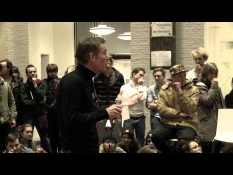 Ewald Engelen, the financialisation of higher education part 2 (Q&A) / Maagdenhuis Amsterdam