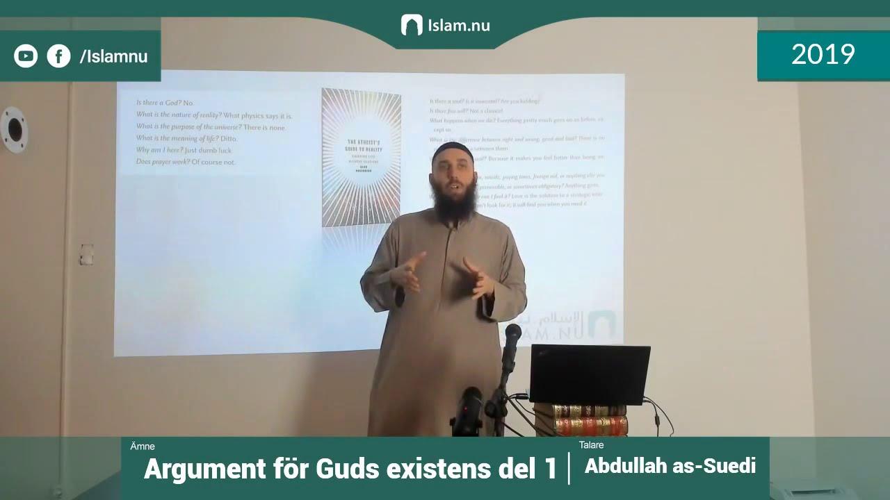 Argument för Guds existens | del 1 av 4 | Shaykh Abdullah as-Sueidi