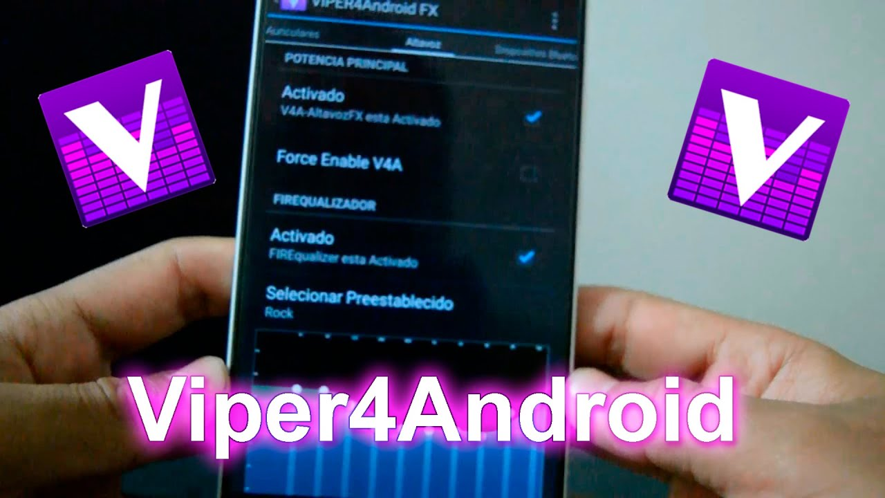 INSTALAR viper4android [AUDIO EFFECTS] HUAWEI [MATE 8,7]