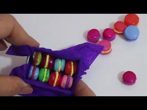 Barbie Minyatür Makaron Yapımı
