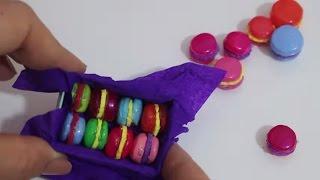Barbie Minyatür Makaron Yapımı DIY Kendin Yap Barbie Yiyecekleri Barbi Eşyalar Bidünya Oyuncak