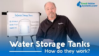 What is a Water Storage Tank and How Does it Work?
