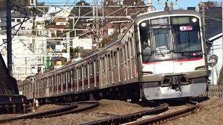 東急東横線5050系5171F菊名カーブ通過